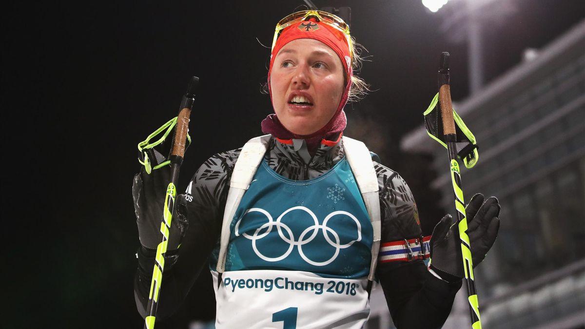 Olympia 2018 - Laura Dahlmeier (Deutschland)