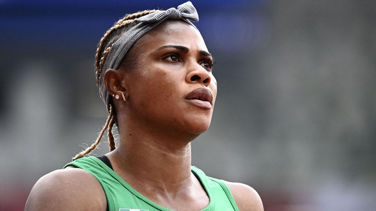 La sprinteuse Blessing Okagbare.
