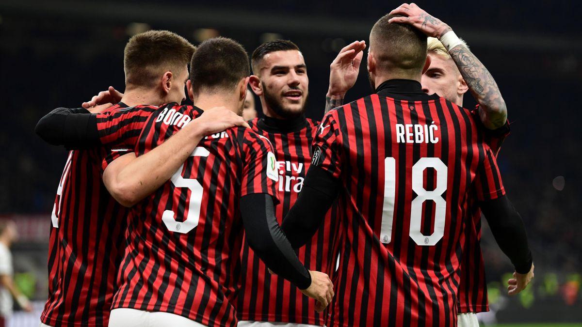 Bonaventura - Milan-Torino - Coppa Italia 2019/2020 - Getty Images