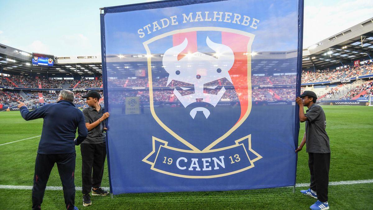 Le Stade Malherbe Caen, en Ligue 2 depuis 2019.