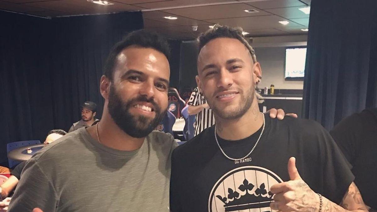 Sergio Peres og Neymar. Foto: Privat