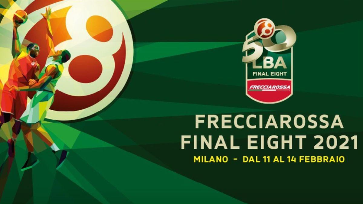 Logo Frecciarossa Final Eight Coppa Italia 2021