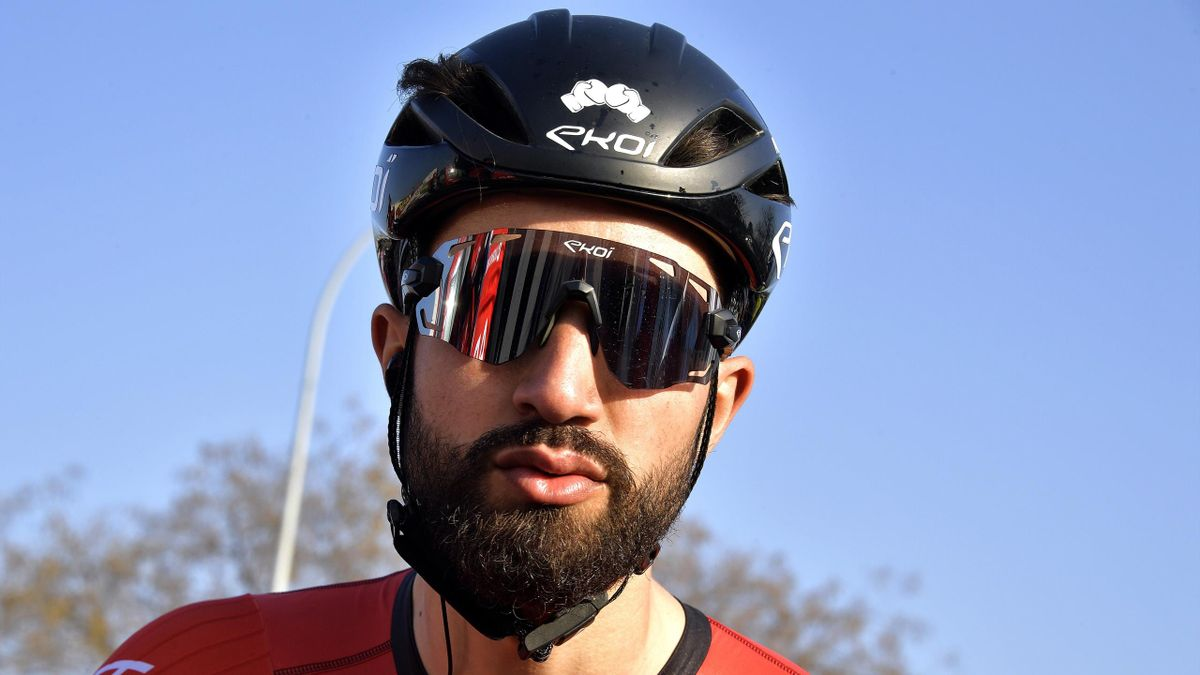 Nacer Bouhanni was subjected to racist abuse online following an incident at a race last month