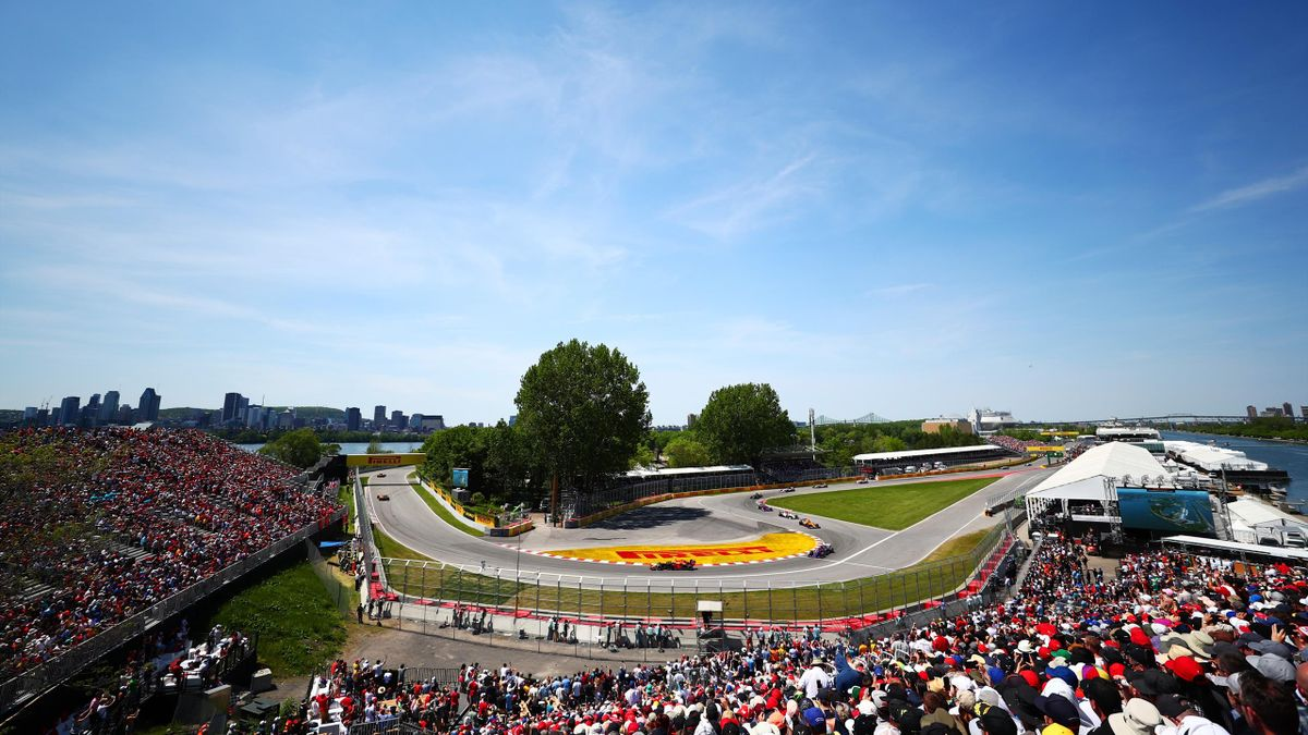 Le Grand Prix du Canada à Montreal.