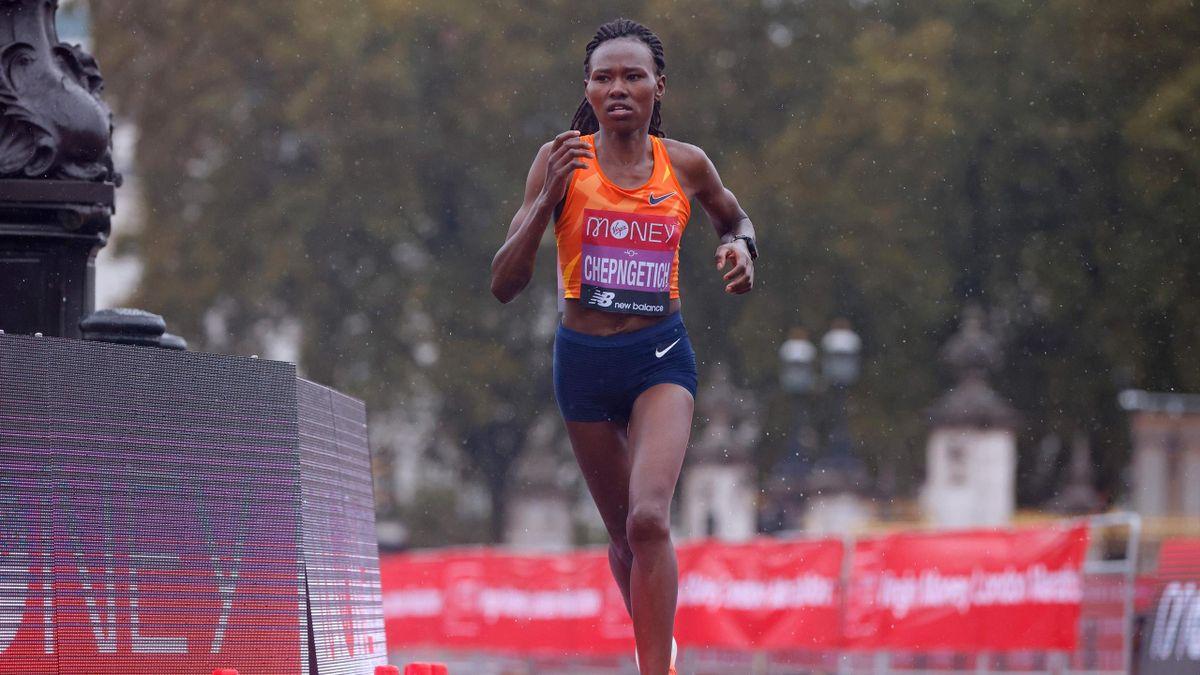 Kenya's Ruth Chepngetich