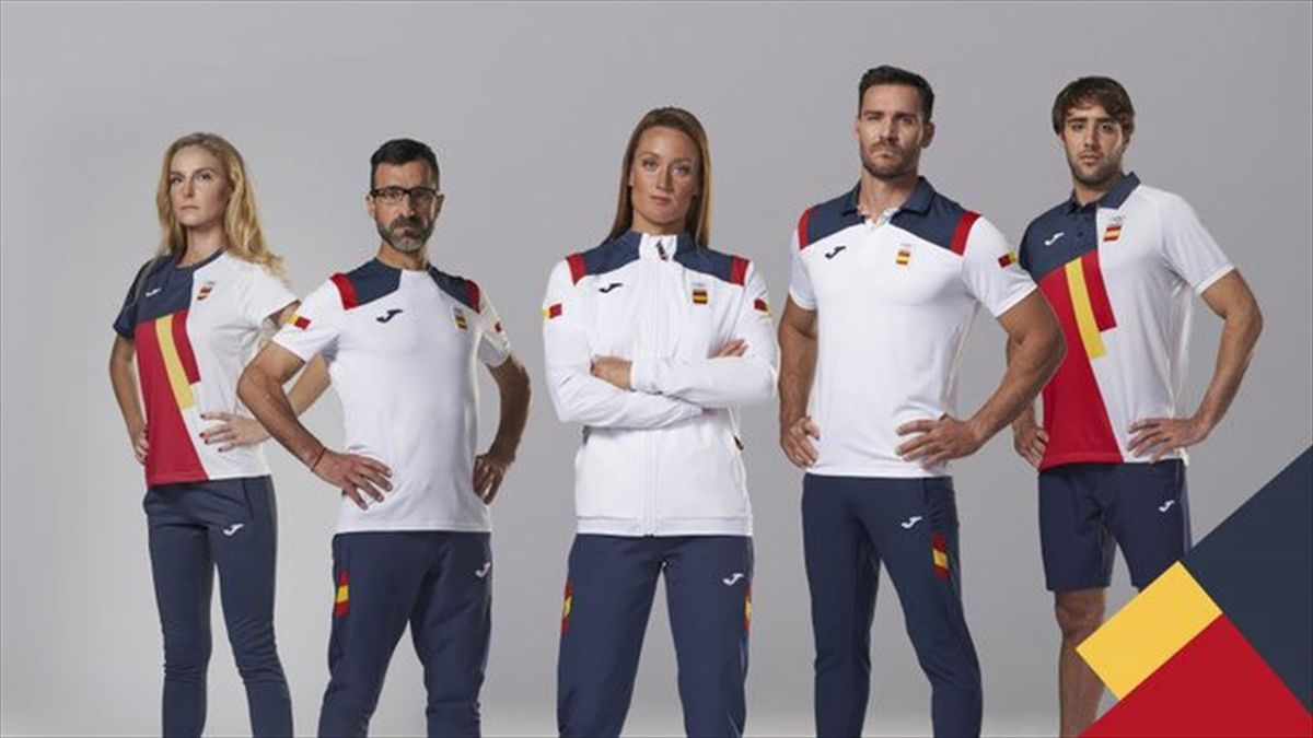 Equipación de España para los Juegos Olímpicos de Tokio