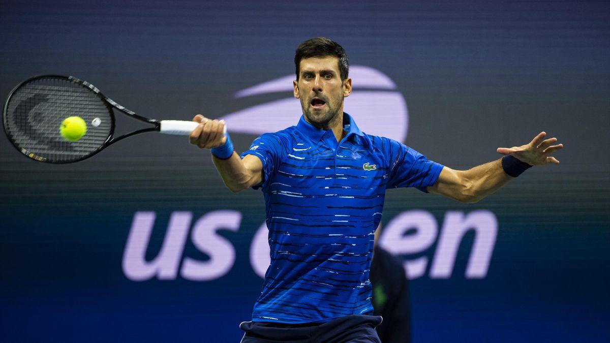 Novak Djokovic bei den US Open 2019