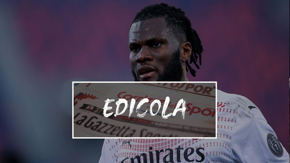 Edicola, Franck Kessie - AC Milan