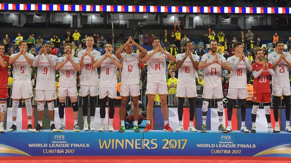 L'équipe de France vainqueur de la Ligue Mondiale