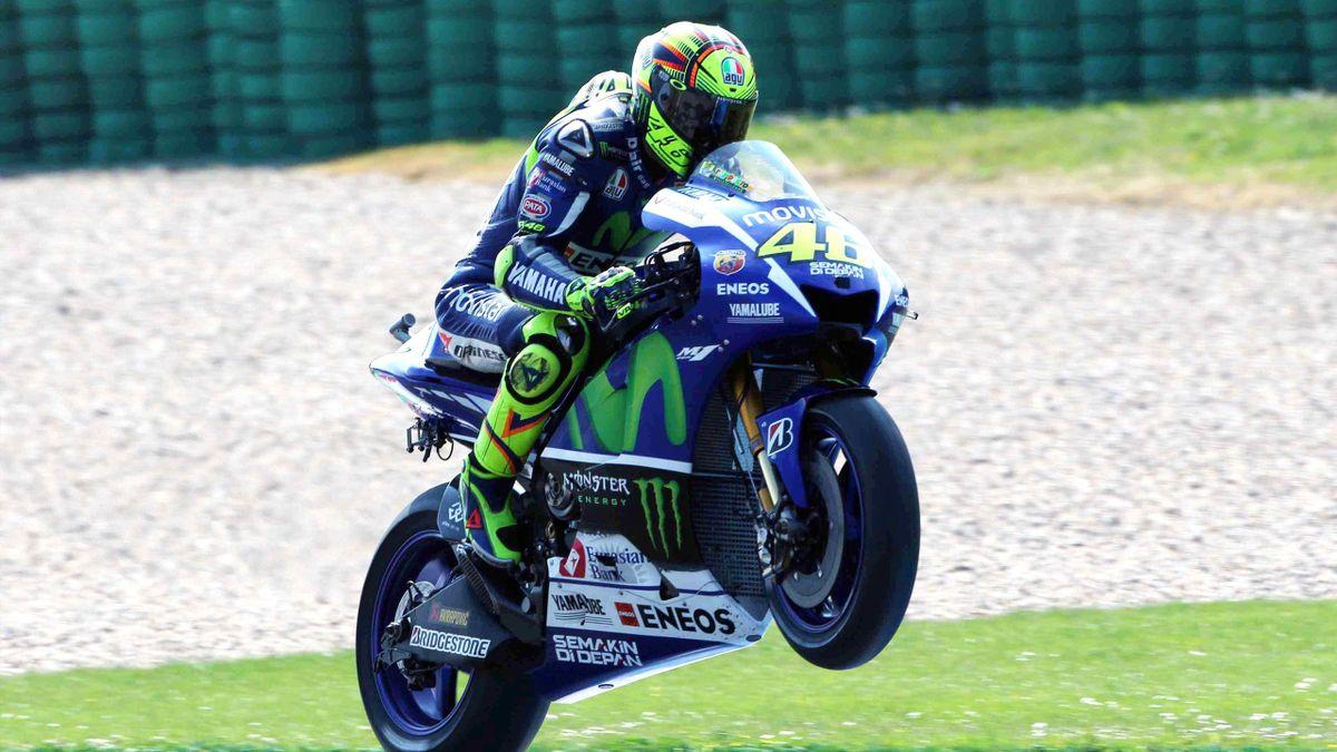 Pole Position für Valentino Rossi