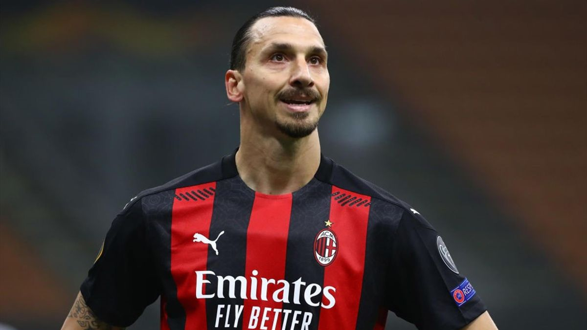 Zlatan Ibrahimovic - Milan-Lille - Europa League 2020-2021