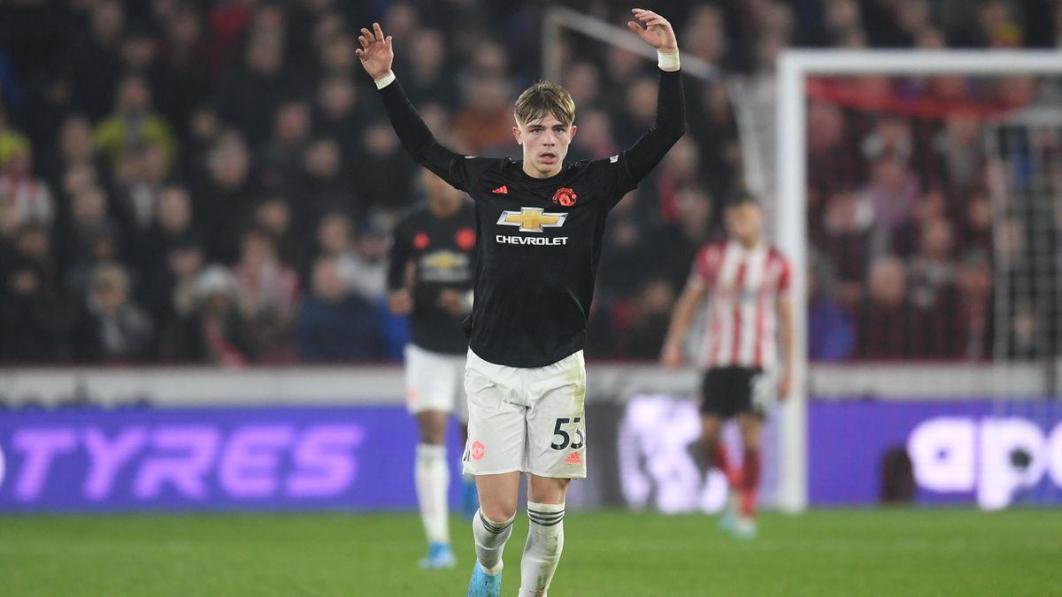 Brandon Williams, fundașul lui Manchester United