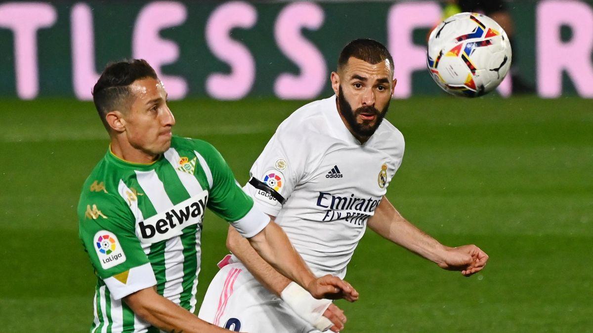 «Real Madrid» - «Betis», Karim Benzema, Andres Guardado