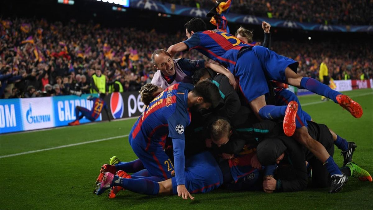 Barcelona - PSG 6-1