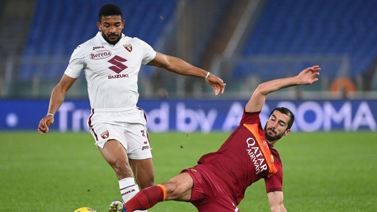 Bremer, Henrikh Mkhitaryan - Roma-Torino Serie A 2020-21