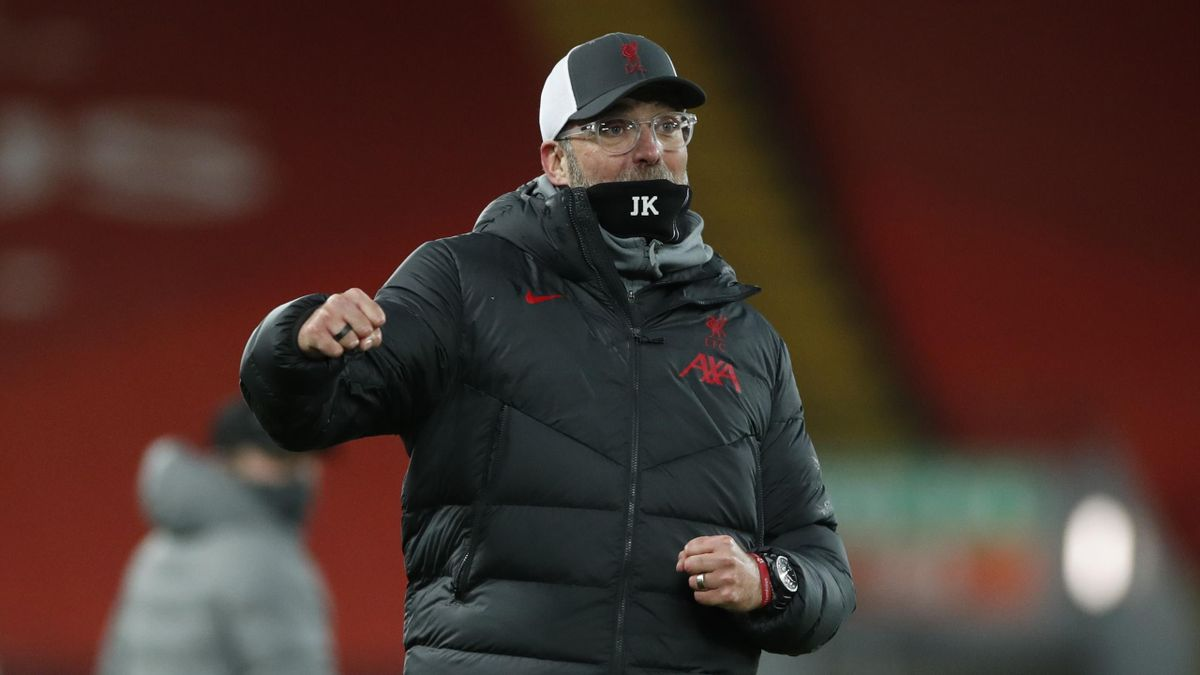 Jürgen Klopp wurde mit dem FC Liverpool 2020 englischer Meister