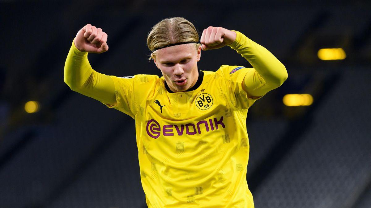 Erling Haaland spielt seit Januar 2020 bei Borussia Dortmund