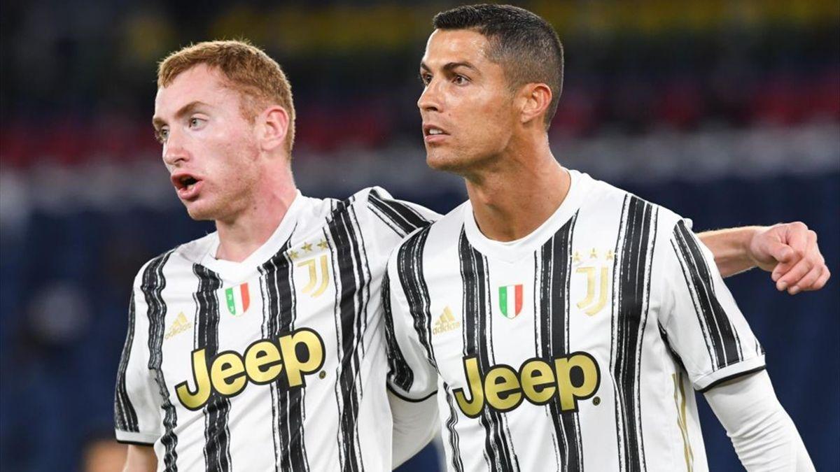 Kulusevski, Cristiano Ronaldo - Roma-Juventus - Serie A 2020/2021 - Getty Images