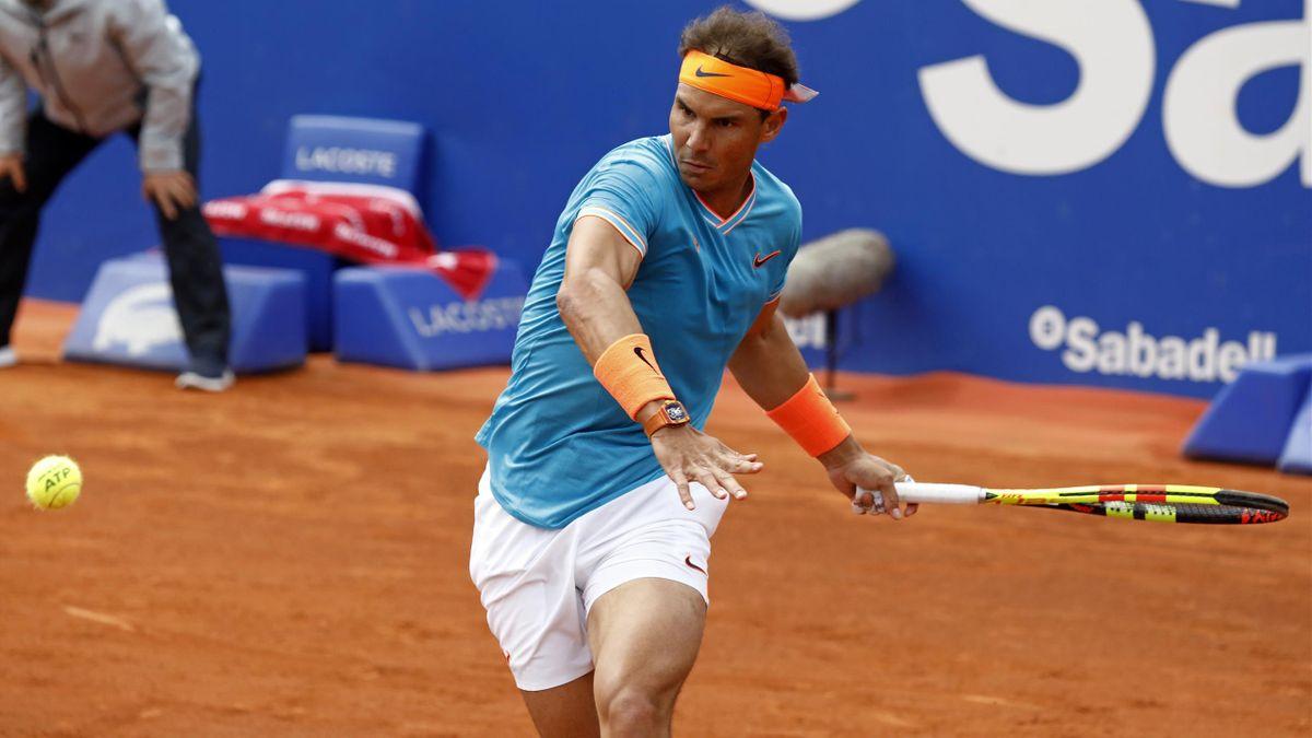 Rafael Nadal à Barcelone en 2019