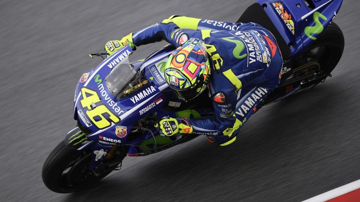 Valentino Rossi (Yamaha Factory) au Grand Prix de Malaisie 2017