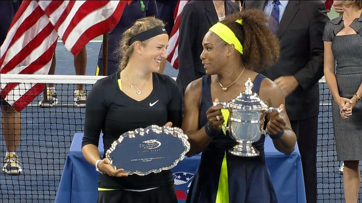 US OPEN - LEGENDS : Serena Williams v Azarenka - Finale 2012