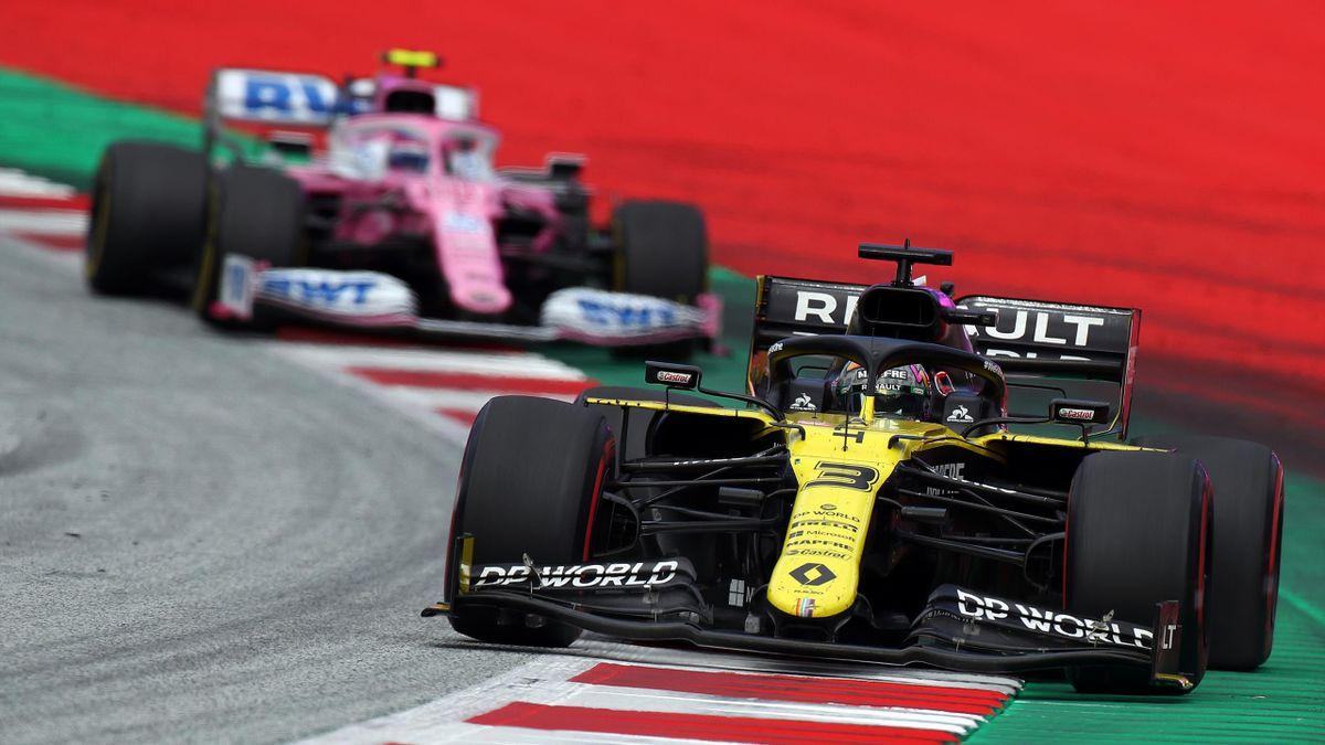 Daniel Ricciardo (Renault) au Grand Prix de Styrie 2020