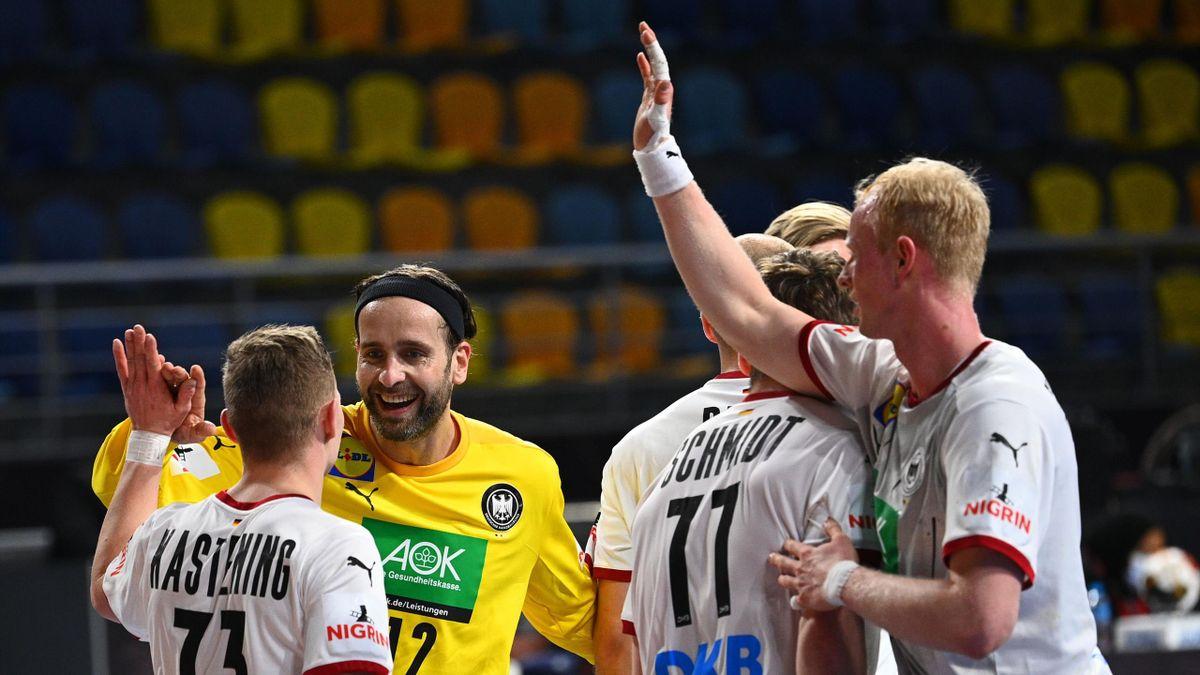 Die deutschen Handballer