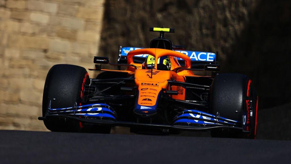 Lando Norris (McLaren) au Grand Prix d'Azerbaïdjan 2021