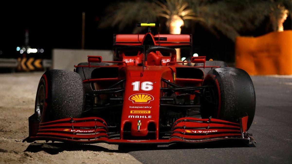 Charles Leclerc (Ferrari) au Grand Prix de Sakhir 2020