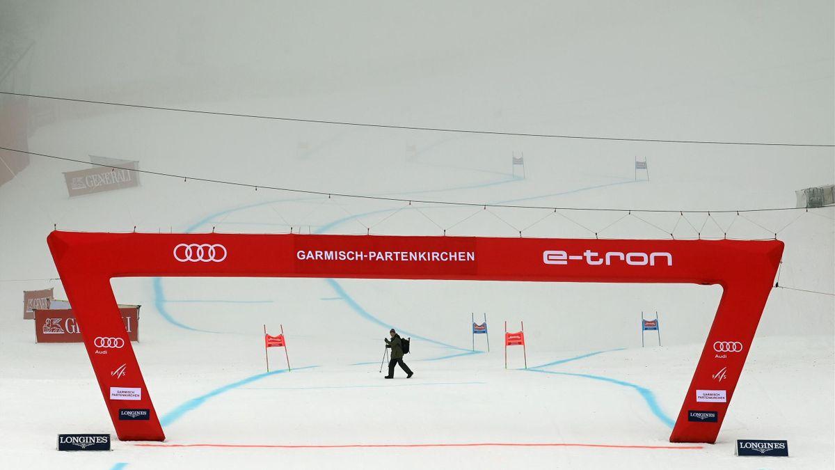 Le brouillard oblige le report du Super-G dames de Garmisch
