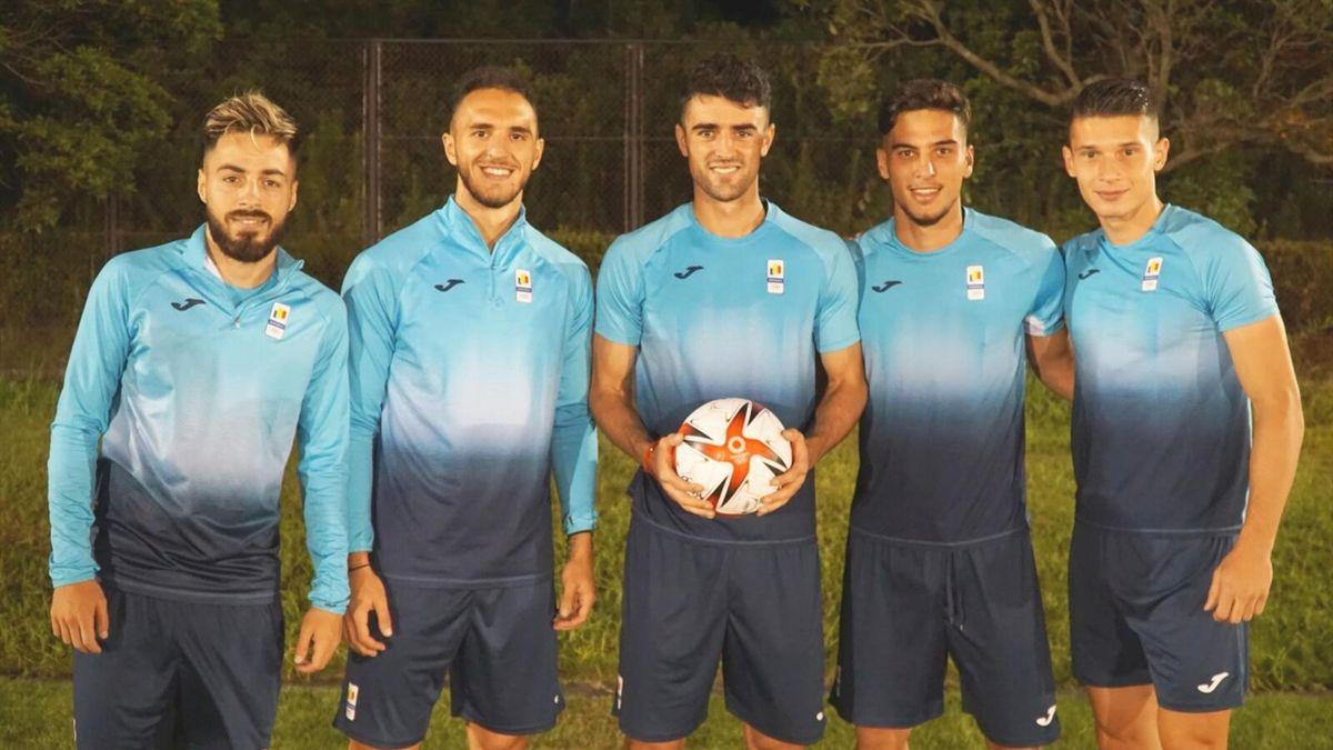 5 dintre fotbaliștii României de la Jocurile Olimpice