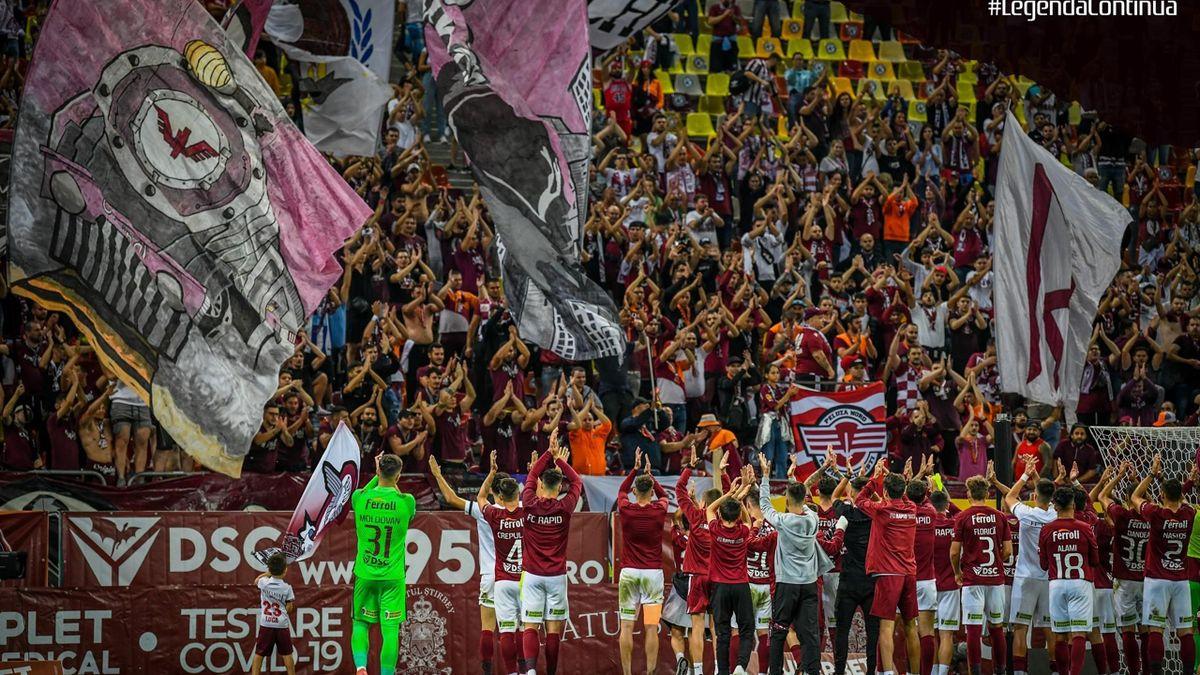 Rapid este în criză și caută soluții pentru înlocuirea antrenorului Iosif. Sursa foto: Facebook FCRapid1923oficial