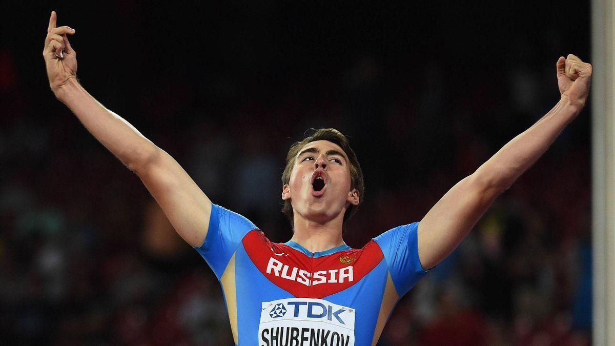 Сергей Шубенков – чемпион мира 2015 года