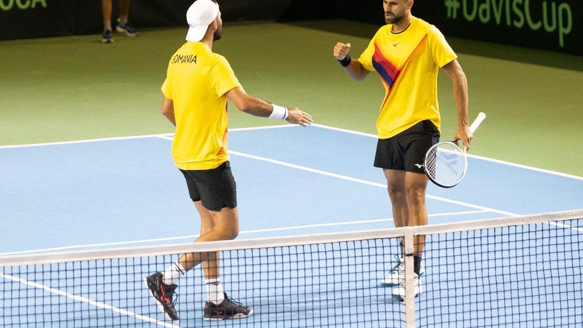 Marius Copil și Horia Tecău în Cupa Davis