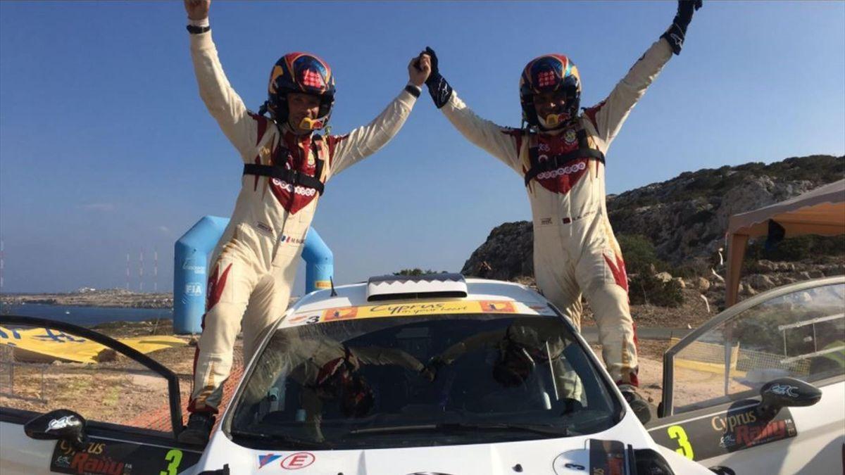 Al-Attiyah, ganador del Rally de Chipre 2017