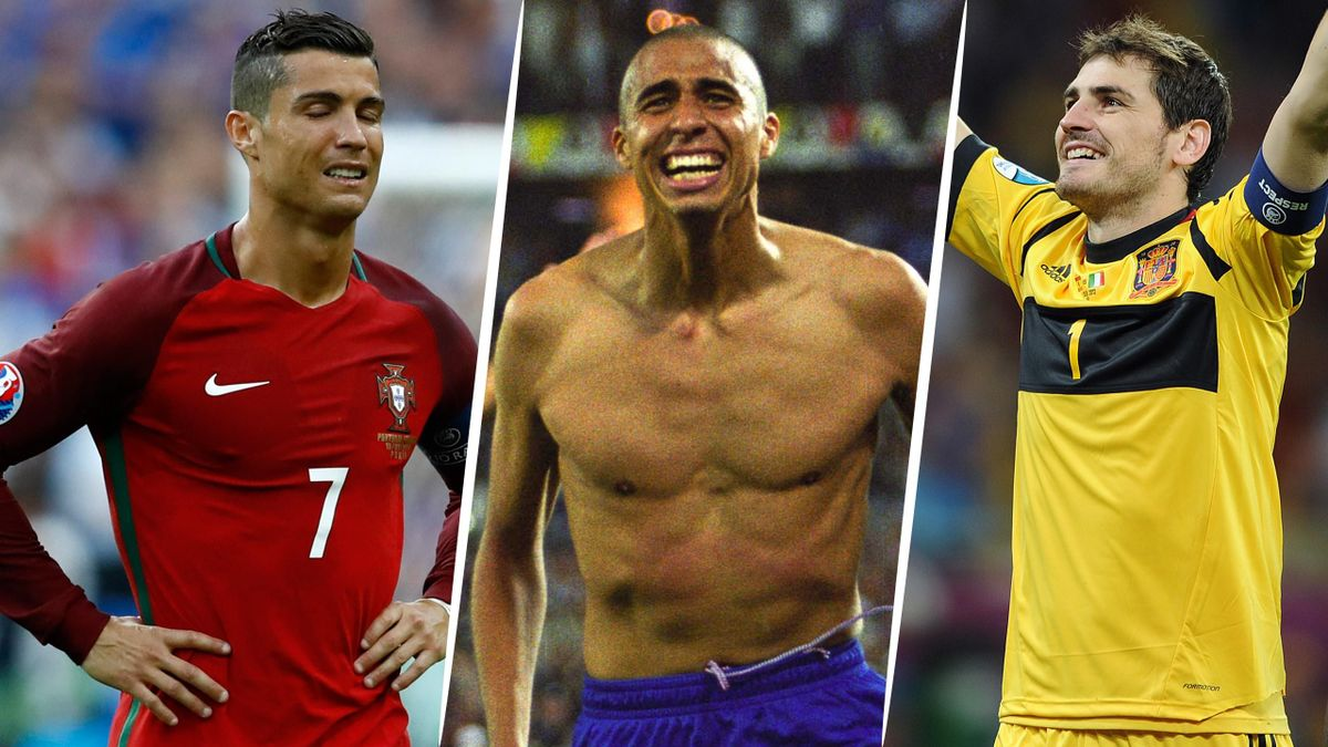 Cristiano Ronaldo, David Trezeguet et Iker Casillas ont tous connu de folles émotions en finale de l'Euro.