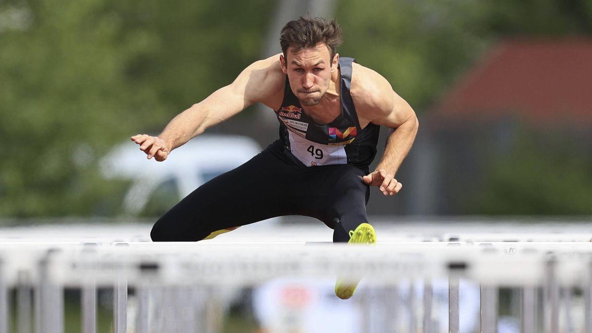 Niklas Kaul beim Comeback am 2. Mai 2021