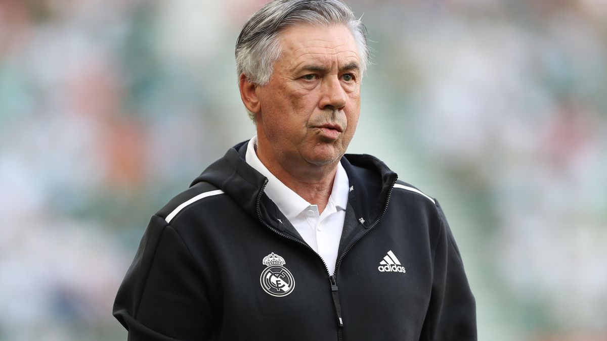 Carlo Ancelotti, antrenorul lui Real Madrid