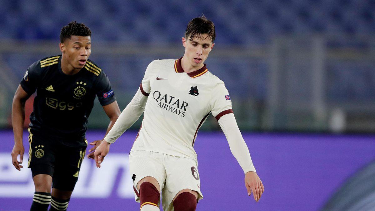 Riccardo Calafiori - Roma-Ajax - Europa League 2020-21