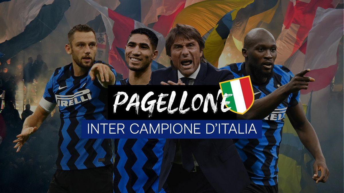 Pagellone - Inter campione d'Italia 2020-2021