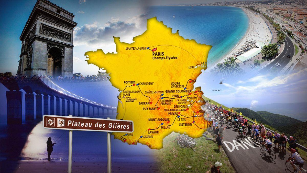 Profils Dates Horaires Etape Par Etape Le Parcours Du Tour 2020 A La Loupe Eurosport