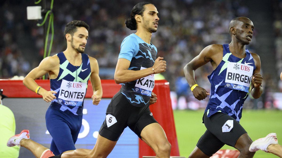 Mohamed Katir (Diamond League Zúrich 2021)