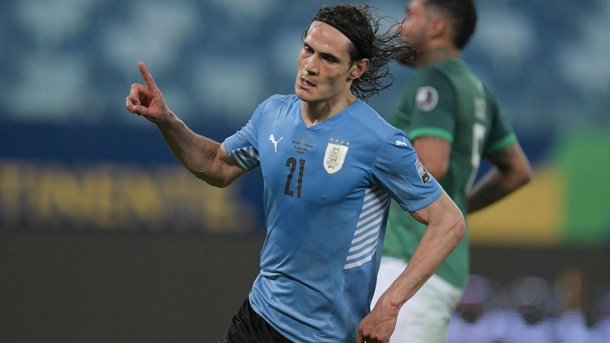 Cavani a segno in Bolivia-Uruguay, Copa America