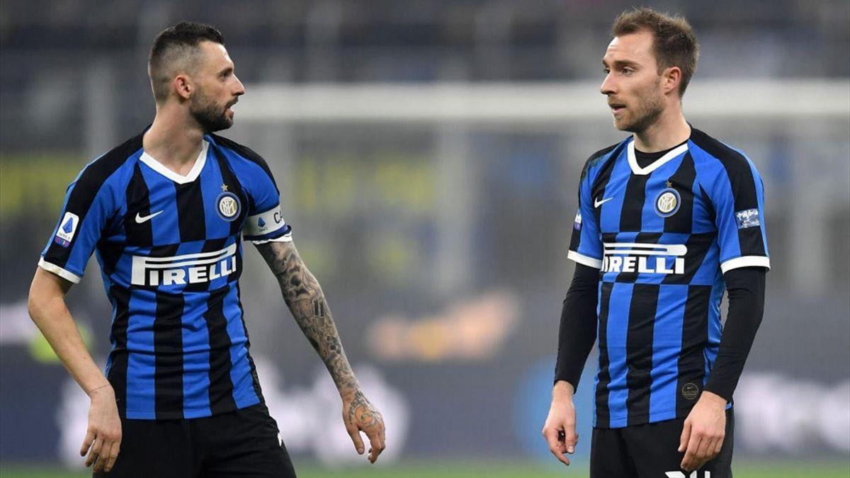 Brozovic ed Eriksen - Inter - 2020