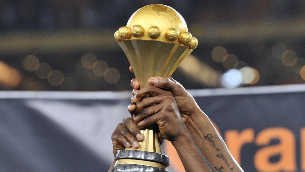 Le trophée de la Coupe d'Afrique des Nations (CAN)