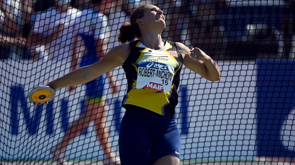 Mélina Robert-Michon a remporté à 41 ans un vingtième titre estival de championne de France du lancer du disque - 26 juin 2021