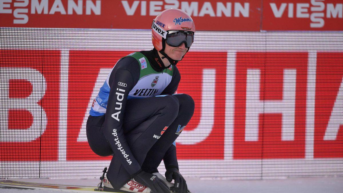 Karl Geiger in Garmisch-Partenkirchen 2020/21