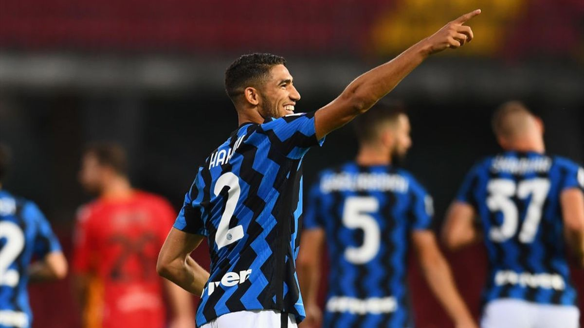 Achraf Hakimi - Benevento-Inter Serie A 2020-21