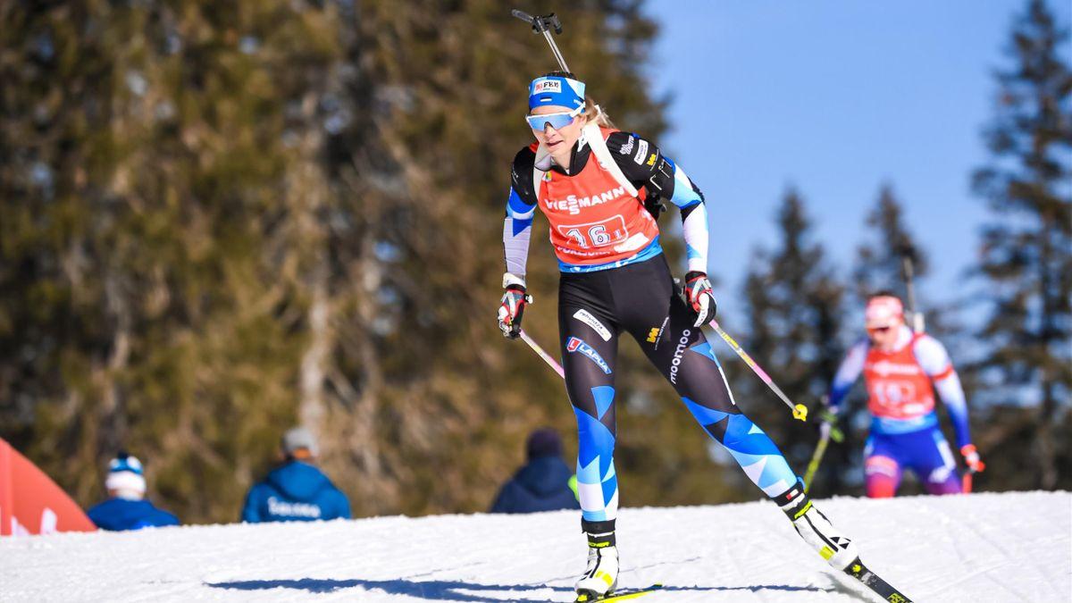 Regina Oja vom Team Estland