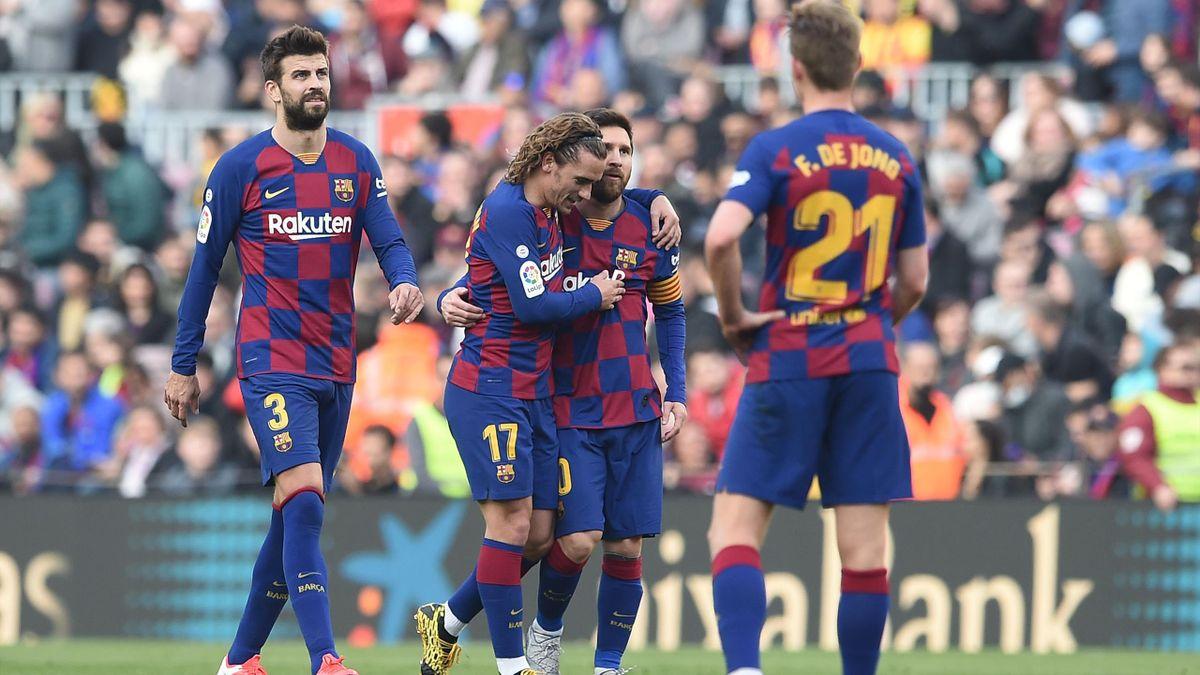 Jucătorii Barcelonei au avut probleme, la mijlocul lui martie
